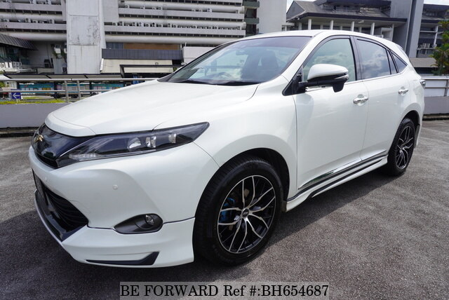 Used 2015 TOYOTA HARRIER BH654687 for Sale