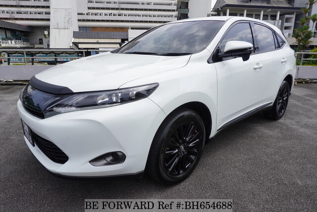 Used 2015 TOYOTA HARRIER BH654688 for Sale