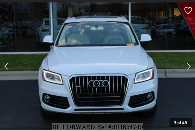 Used 2014 AUDI Q5 BH654740 for Sale
