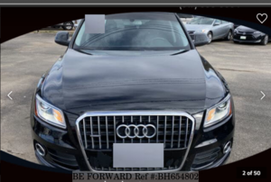 Used 2014 AUDI Q5 BH654802 for Sale