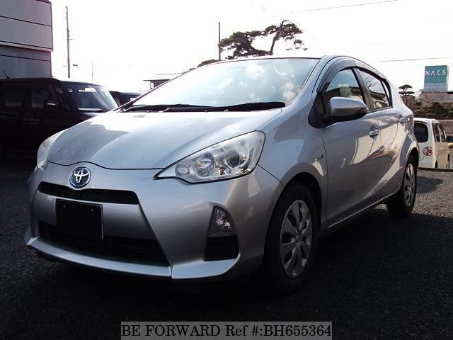 Used 2012 TOYOTA AQUA BH655364 for Sale