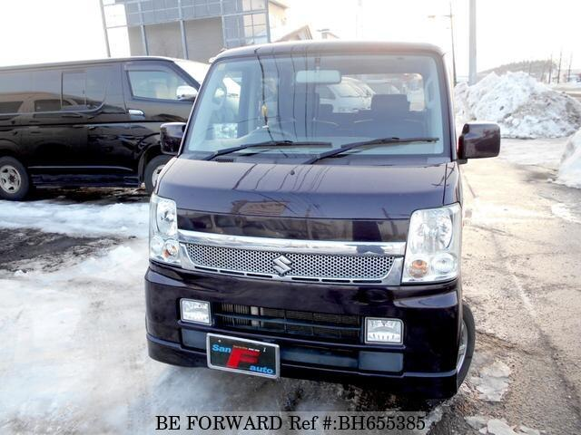 Used 2009 SUZUKI EVERY WAGON BH655385 for Sale