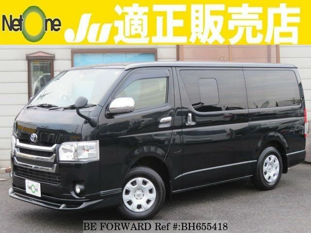 Used 2015 TOYOTA HIACE VAN BH655418 for Sale