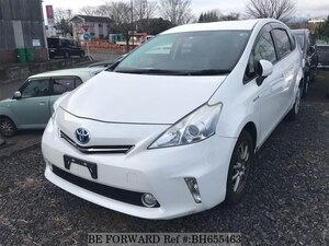 Used 2012 TOYOTA PRIUS ALPHA BH655463 for Sale