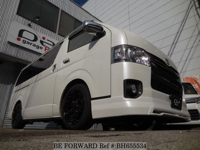 Used 2015 TOYOTA REGIUSACE VAN BH655534 for Sale