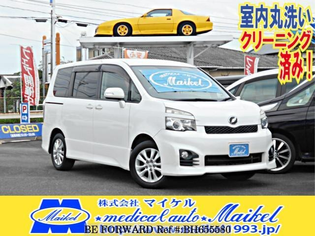 Used 2010 TOYOTA VOXY BH655580 for Sale