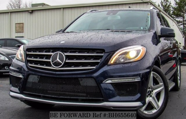Used 2014 MERCEDES-BENZ M-CLASS BH655640 for Sale