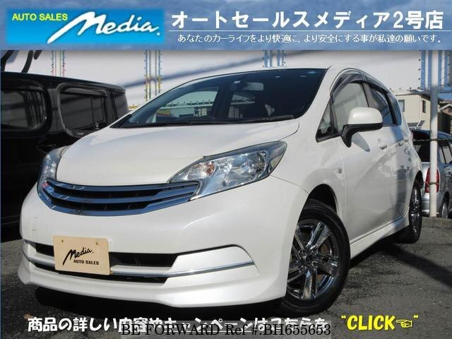 Used 2013 NISSAN NOTE BH655653 for Sale