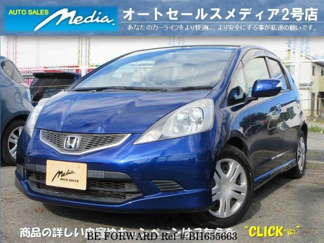 Used 2008 HONDA FIT BH655663 for Sale