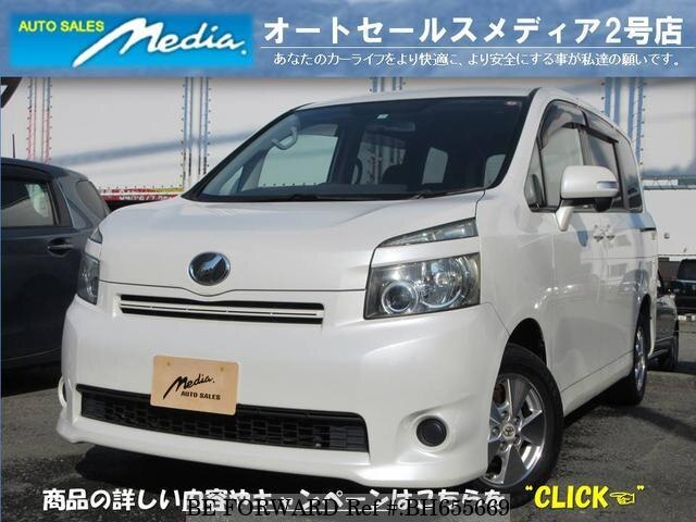 Used 2007 TOYOTA VOXY BH655669 for Sale