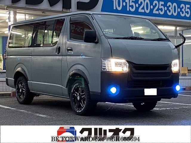 Used 2011 TOYOTA HIACE VAN BH655694 for Sale