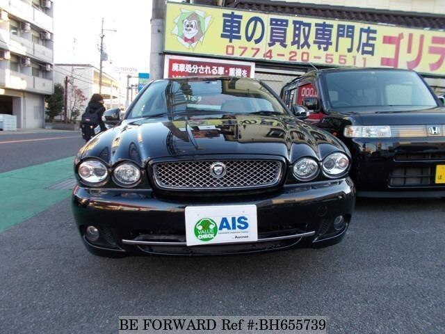Used 2010 JAGUAR X-TYPE BH655739 for Sale