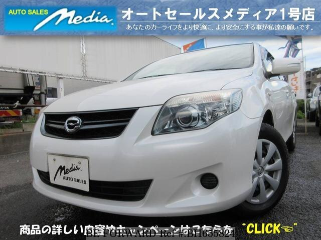 Used 2009 TOYOTA COROLLA FIELDER BH655824 for Sale