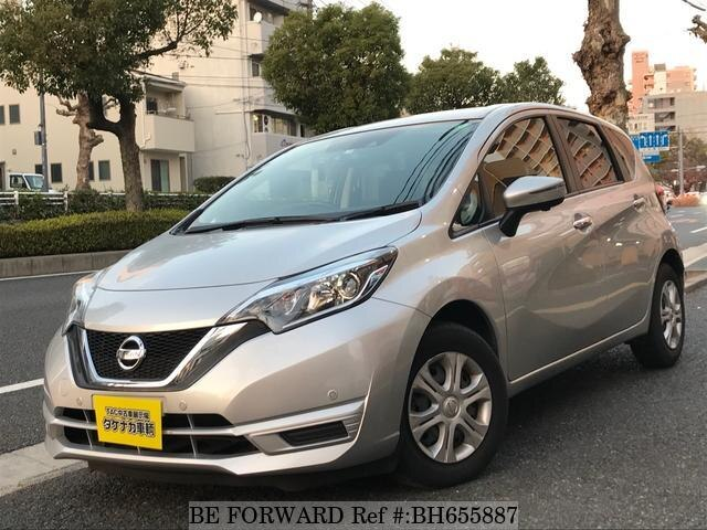 Used 2018 NISSAN NOTE BH655887 for Sale