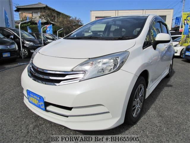 Used 2013 NISSAN NOTE BH655905 for Sale