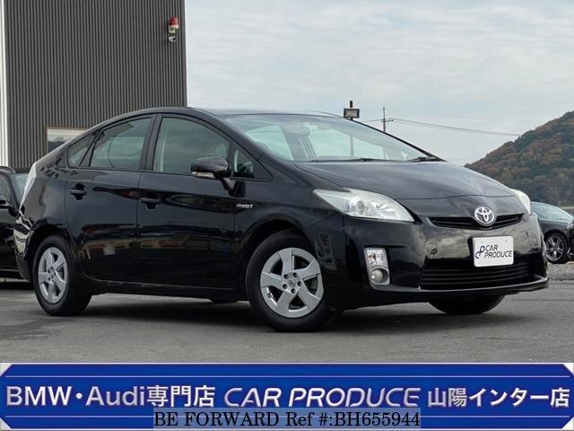 Used 2009 TOYOTA PRIUS BH655944 for Sale