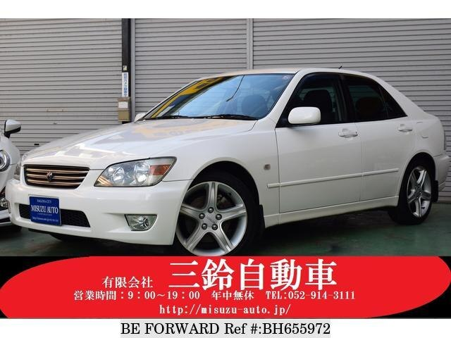 Used 1999 TOYOTA ALTEZZA BH655972 for Sale