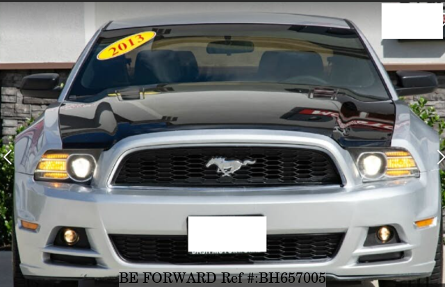Used 2013 FORD MUSTANG BH657005 for Sale