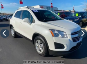 Used 2016 CHEVROLET TRAX BH657060 for Sale