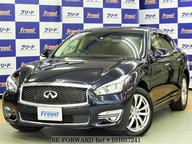 Used 2017 NISSAN FUGA BH657241 for Sale