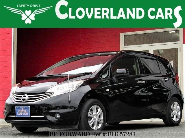 Used 2014 NISSAN NOTE BH657283 for Sale