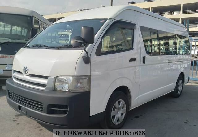 Used 2006 TOYOTA HIACE COMMUTER BH657668 for Sale