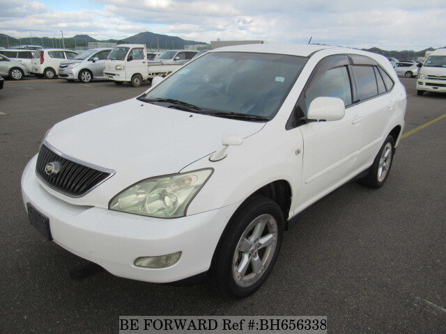 Used 2003 TOYOTA HARRIER BH656338 for Sale