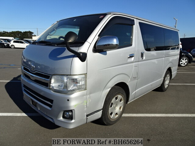 Used 2010 TOYOTA HIACE VAN BH656264 for Sale