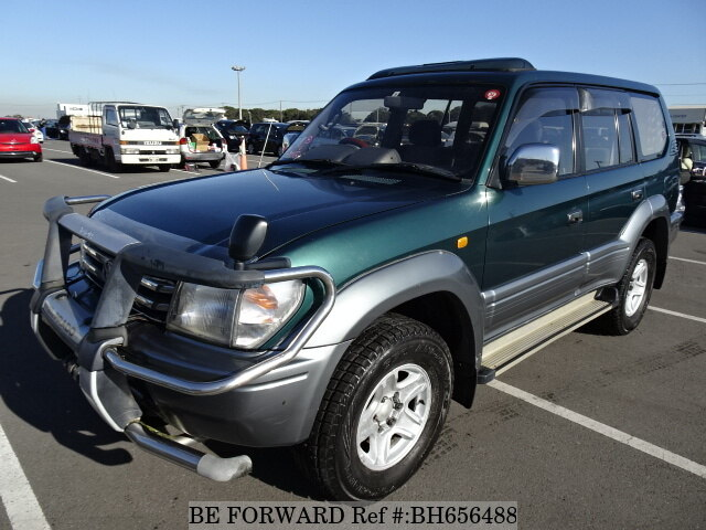 Used 1996 TOYOTA LAND CRUISER PRADO BH656488 for Sale