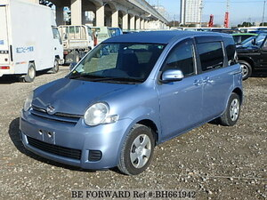 Used 2012 TOYOTA SIENTA BH661942 for Sale