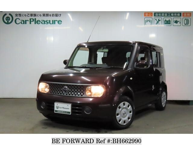 Used 2007 NISSAN CUBE BH662990 for Sale