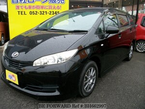 Used 2009 TOYOTA WISH BH662997 for Sale