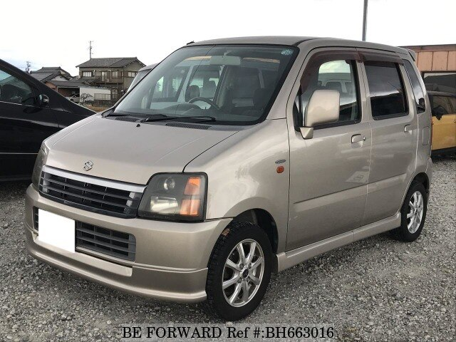 Used 2001 SUZUKI WAGON R BH663016 for Sale