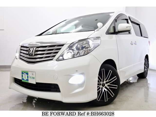 Used 2009 TOYOTA ALPHARD BH663028 for Sale