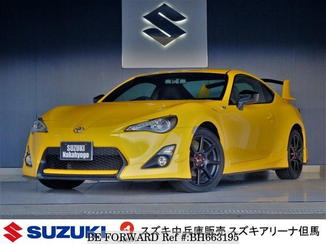 Used 2016 TOYOTA 86 BH663195 for Sale