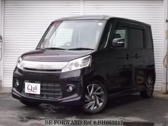 Used 2013 SUZUKI SPACIA BH663217 for Sale