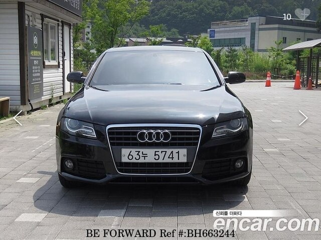 Used 2010 AUDI A4 BH663244 for Sale