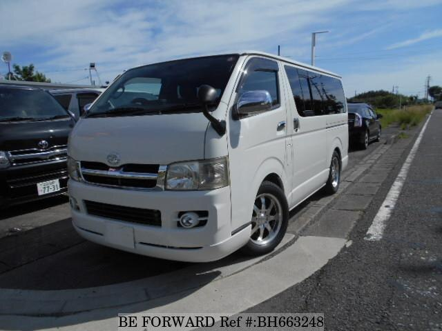 Used 2007 TOYOTA HIACE VAN BH663248 for Sale