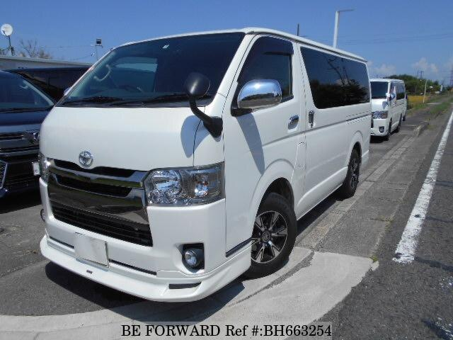 Used 2016 TOYOTA HIACE VAN BH663254 for Sale