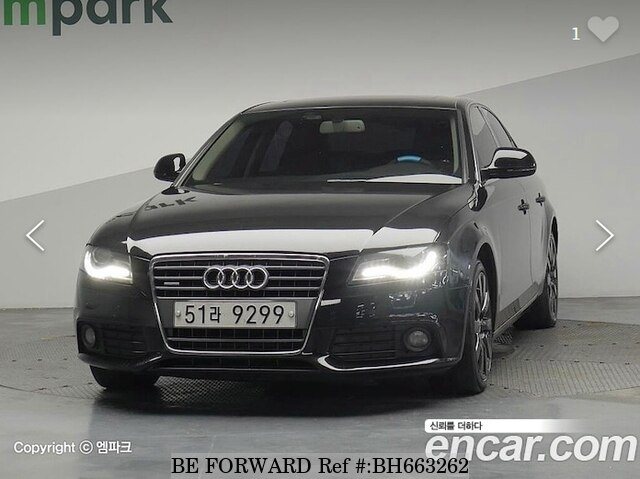 Used 2009 AUDI A4 BH663262 for Sale
