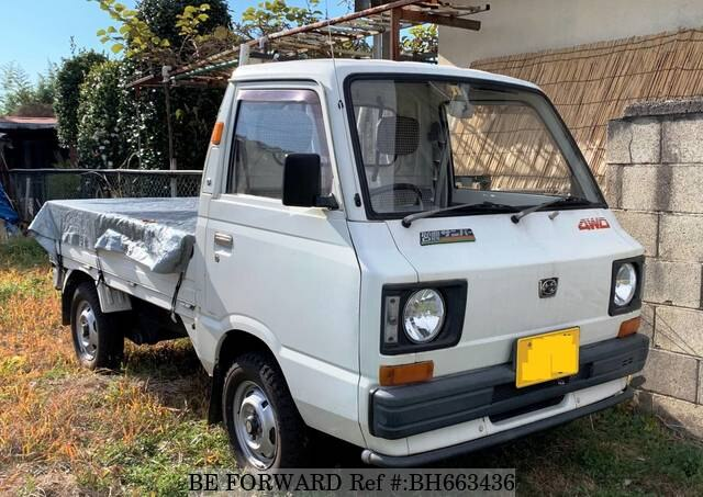 Used 1987 SUBARU SAMBAR TRUCK BH663436 for Sale