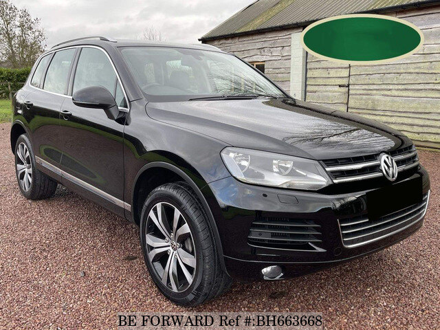 Used 2012 VOLKSWAGEN TOUAREG BH663668 for Sale
