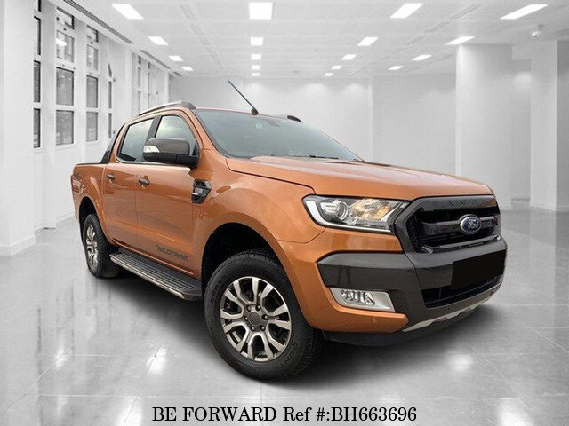 Used 2017 FORD RANGER BH663696 for Sale