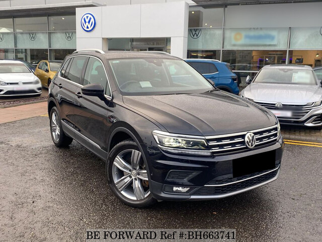 Used 2019 VOLKSWAGEN TIGUAN BH663741 for Sale