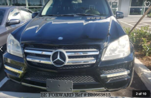 Used 2012 MERCEDES-BENZ GL-CLASS BH663815 for Sale