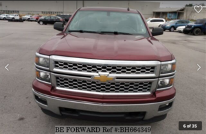 Used 2014 CHEVROLET SILVERADO BH664349 for Sale