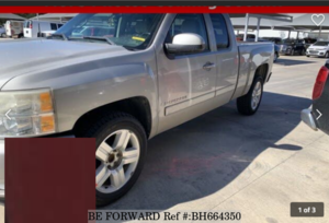 Used 2008 CHEVROLET SILVERADO BH664350 for Sale