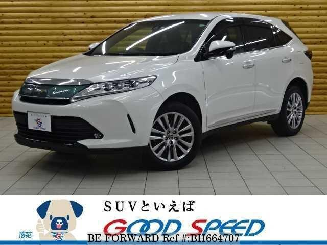 Used 2018 TOYOTA HARRIER BH664707 for Sale