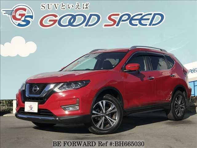 Used 2017 NISSAN X-TRAIL BH665030 for Sale