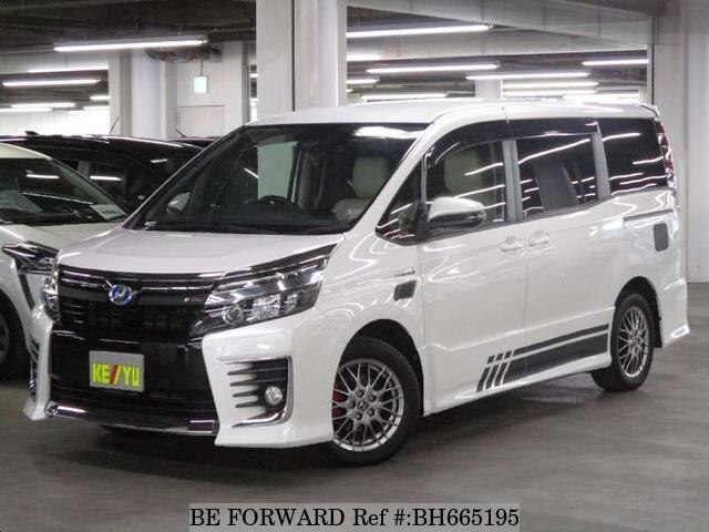 Used 2016 TOYOTA VOXY BH665195 for Sale